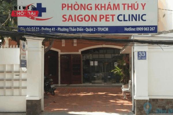 Phòng Khám Thú Y Sài Gòn Pet – Quận 2