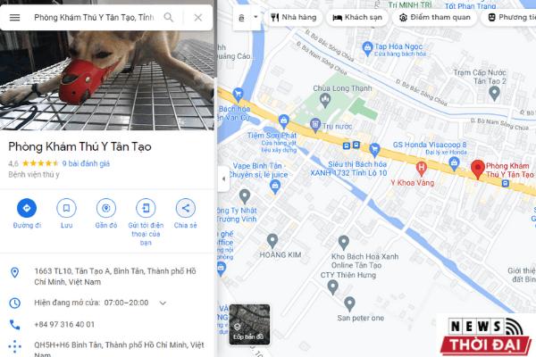 Phòng khám thú y quận Bình Tân – Thú Y Tân Tạo